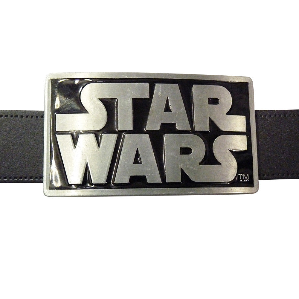 Star Wars Belt Buckle - Logo - BBT Clothing - 3