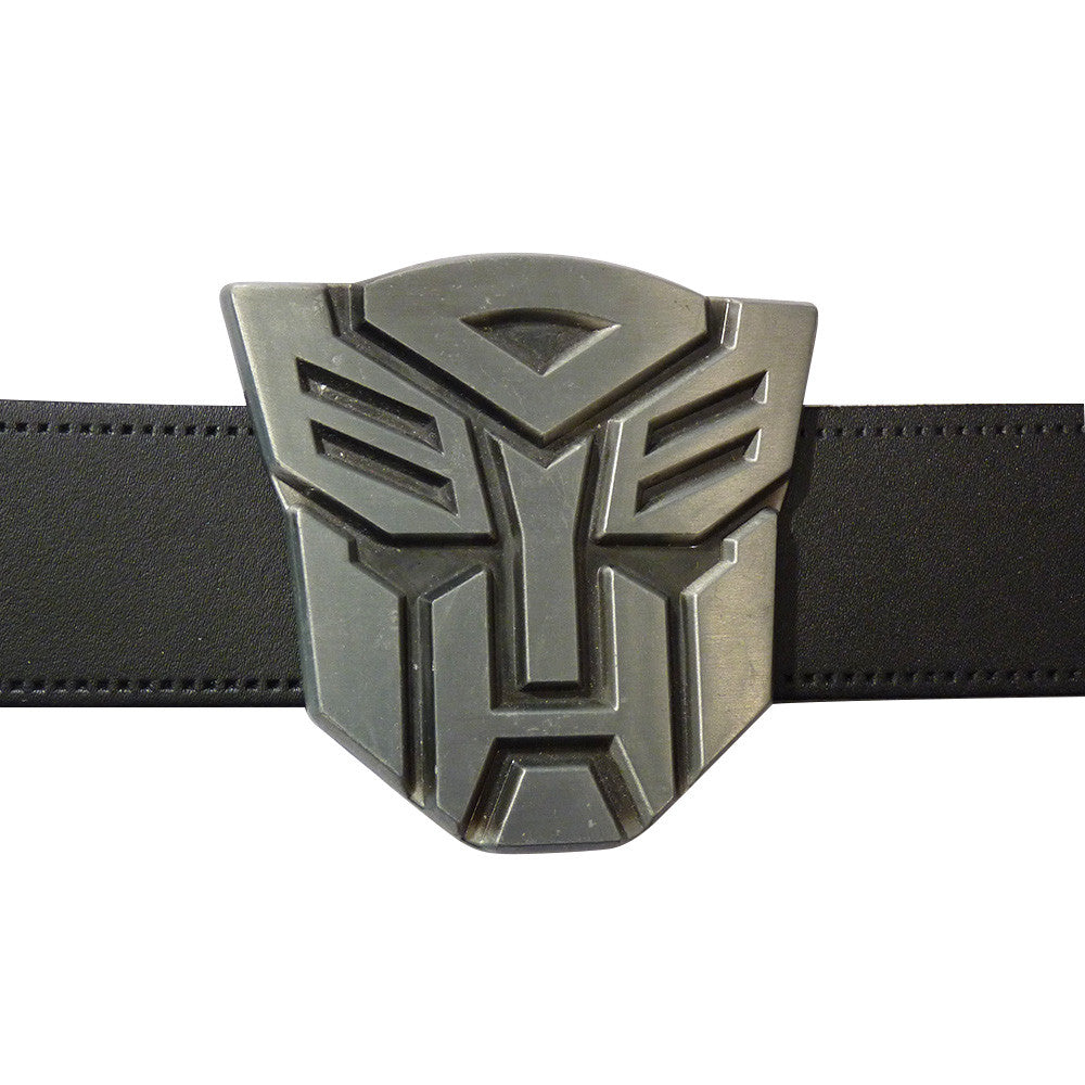 Transformers Belt Buckle  - Autobot Metal Finish - BBT Clothing - 3