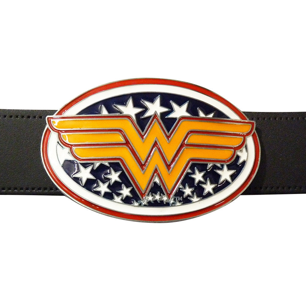 Wonder Woman Belt Buckle - BBT Clothing - 3