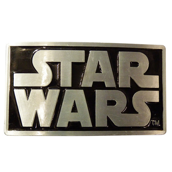 Star Wars Belt Buckle - Logo - BBT Clothing - 1