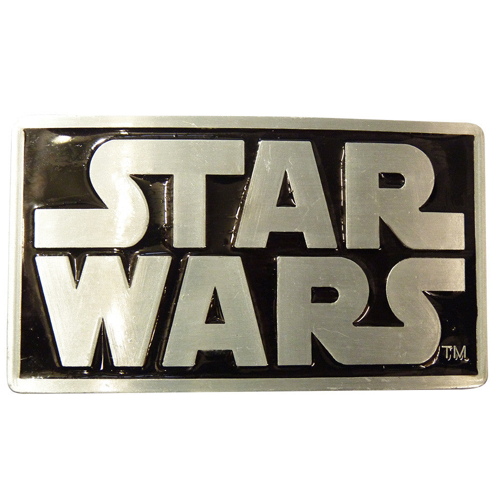 Star Wars Belt Buckle - Logo - BBT Clothing - 2