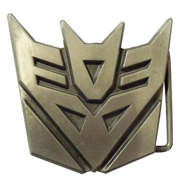 Transformers Belt Buckle - Decepticon Metal Finish - BBT Clothing - 3