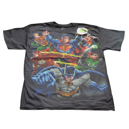 DC Comic T-Shirt - Heroes vs Villains Reversible design - BBT Clothing - 1