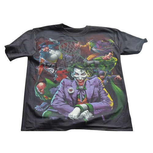 DC Comic T-Shirt - Heroes vs Villains Reversible design - BBT Clothing - 4