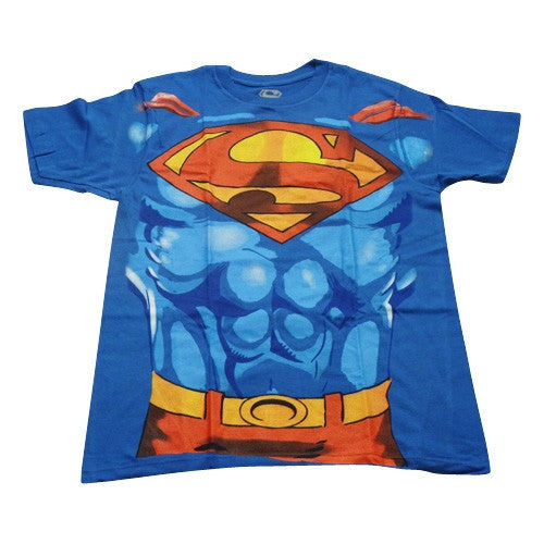 Superman T-Shirt - Superman Suit - BBT Clothing - 4