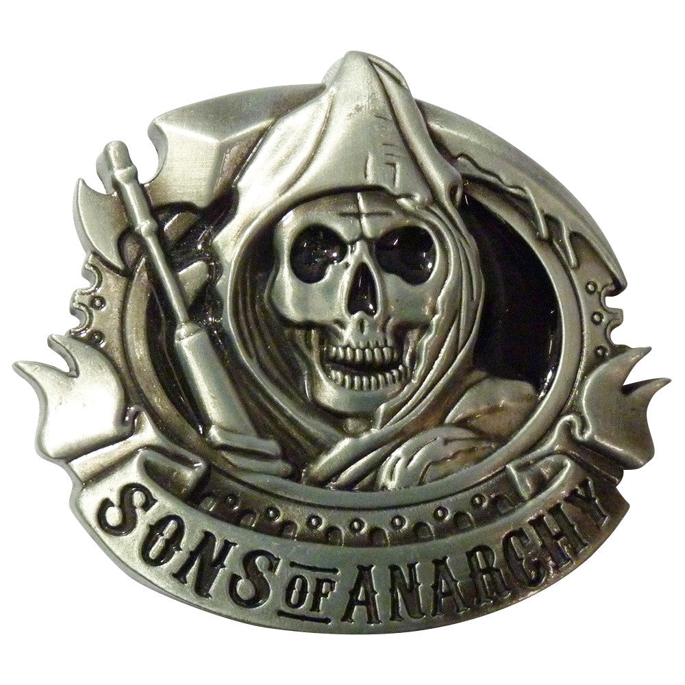 Sons Of Anarchy Belt Buckle - BBT Clothing - 1