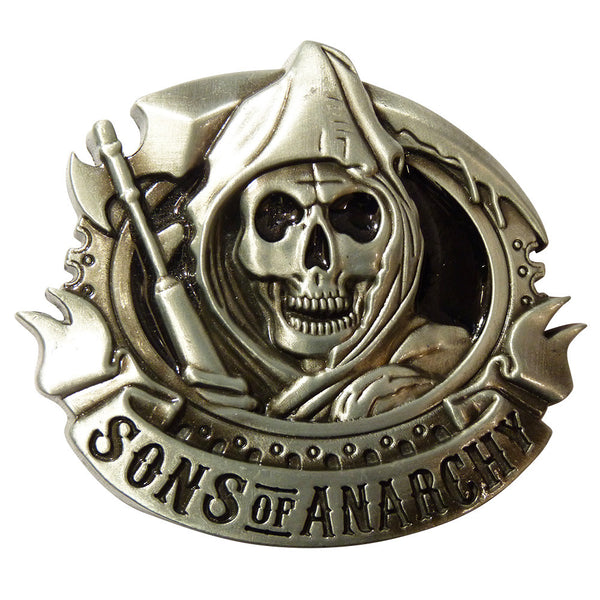 Sons Of Anarchy Belt Buckle - BBT Clothing - 2