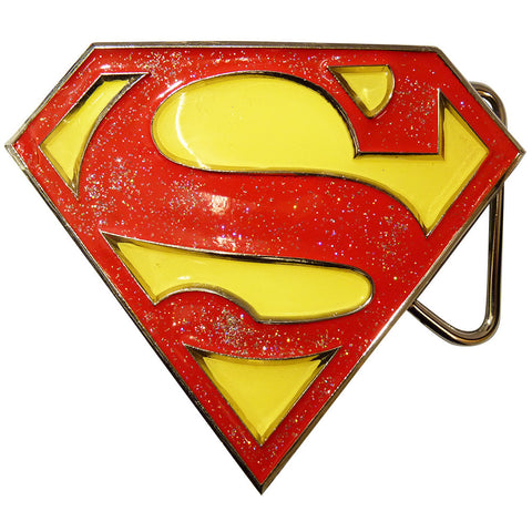 Superman Belt Buckle - Classic Logo