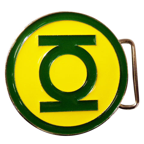 Green Lantern Belt Buckle - classic logo