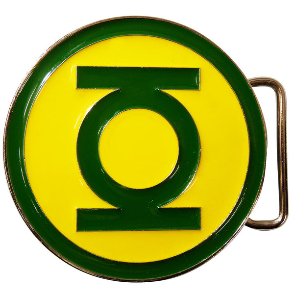 Green Lantern Belt Buckle - classic logo - BBT Clothing - 3