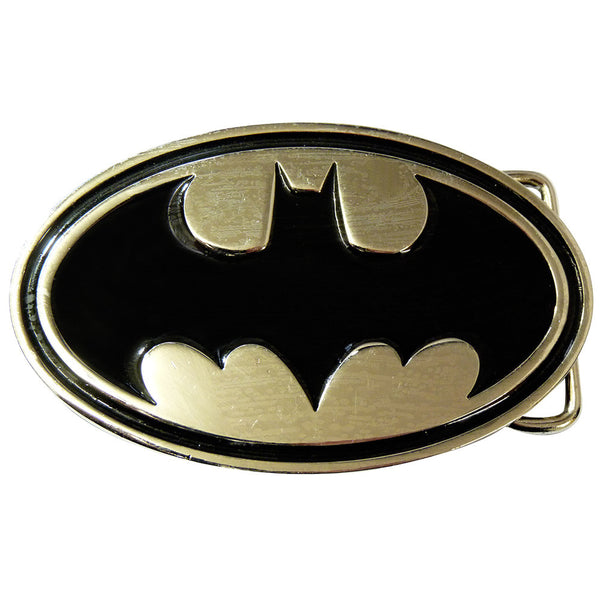 Batman Belt Buckle - Chrome & Black - BBT Clothing
