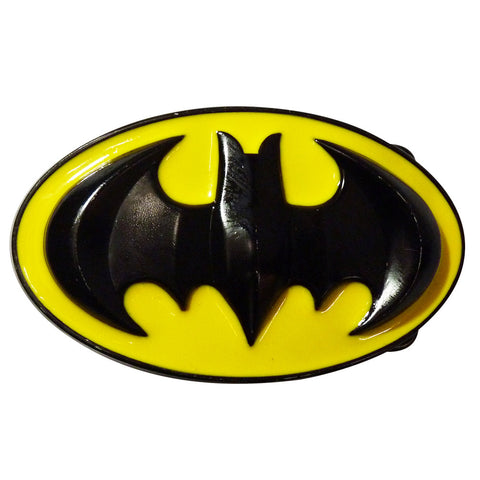 Batman Belt Buckle - 3D Black & Yellow