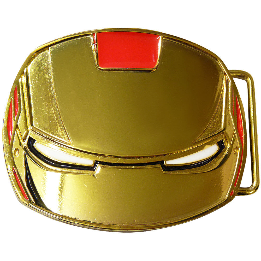 Iron Man Belt Buckle - Mask - BBT Clothing - 1