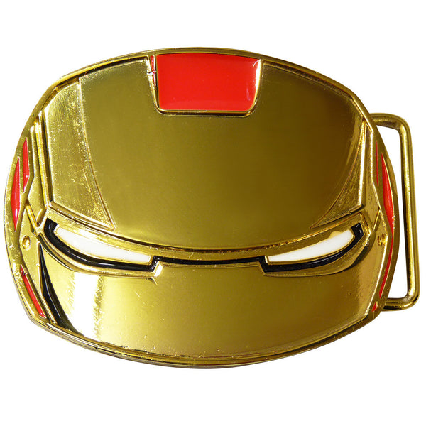 Iron Man Belt Buckle - Mask - BBT Clothing - 2