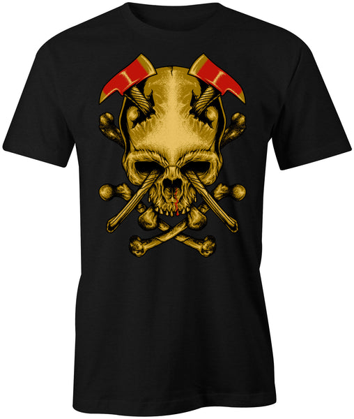 Axe To The Skull T-Shirt - BBT Clothing