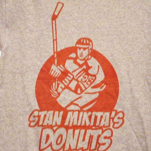 Stan Mikita Donuts T-Shirt -  Grey - BBT Clothing - 2