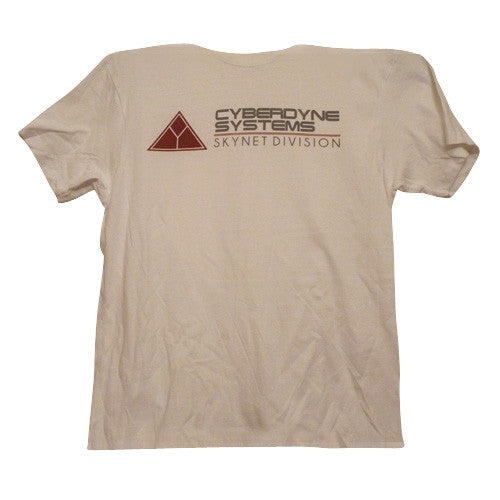Cyberdyne Systems T-Shirt - White - BBT Clothing - 4