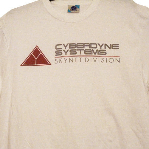 Cyberdyne Systems T-Shirt - White - BBT Clothing - 5