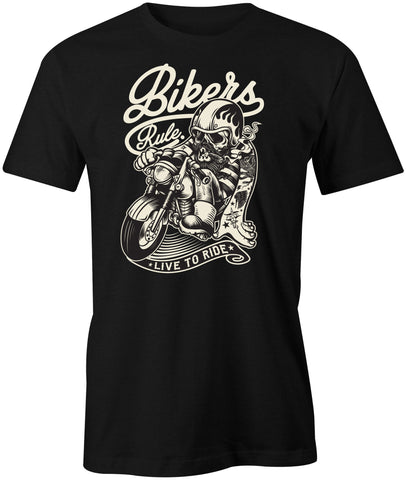 Bikers Rule T-Shirt