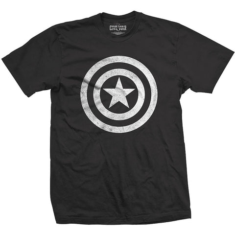 Captain America T-Shirt - Cvil War Logo