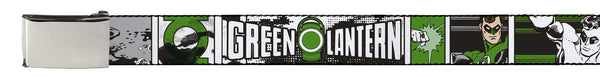 Green Lantern Belt - Comic Strip - BBT Clothing