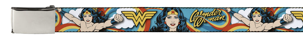 Wonder Woman Belt - Rainbow - BBT Clothing
