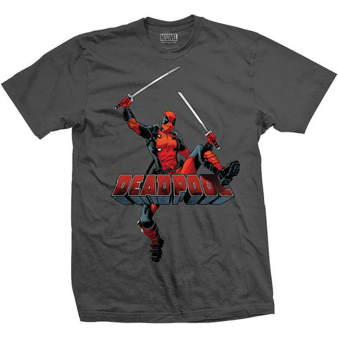 Deadpool T-Shirt - Logo Jump