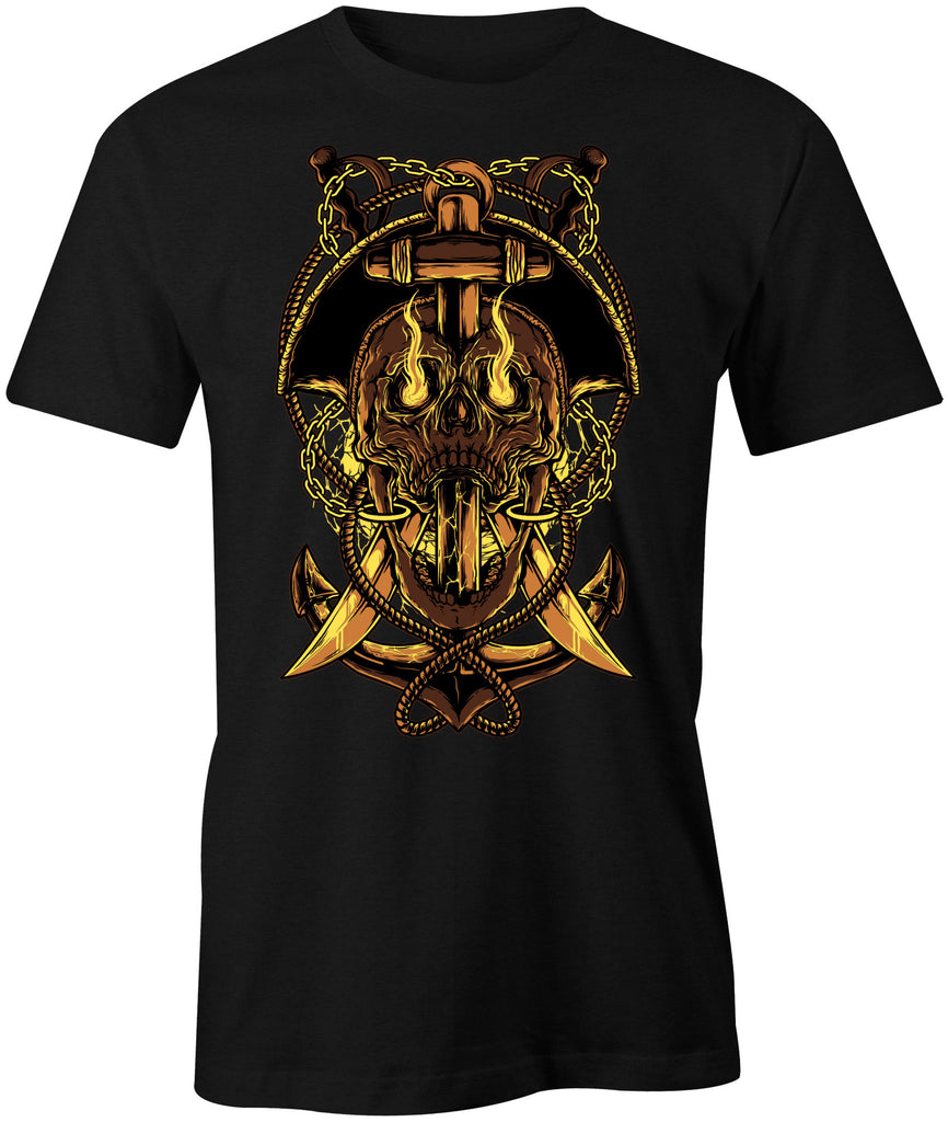 Devil Head Biker T-Shirt - BBT Clothing - 1