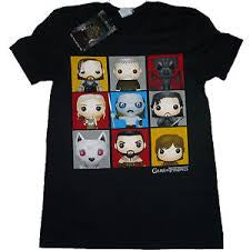 Game of Thrones T-Shirt - Character Bling Art - BBT Clothing