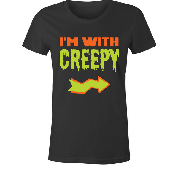 I'm With Creepy T-Shirt - BBT Clothing - 1