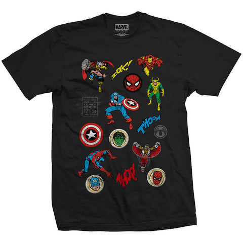 Marvel T-Shirt - Team Ups Soldiers Revenge