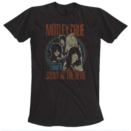 Motley Crue T-Shirt - World Tour - BBT Clothing - 1