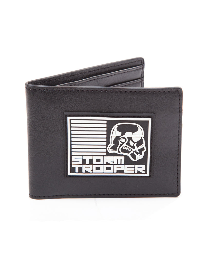 Star Wars Wallet - Stormtrooper Black - BBT Clothing