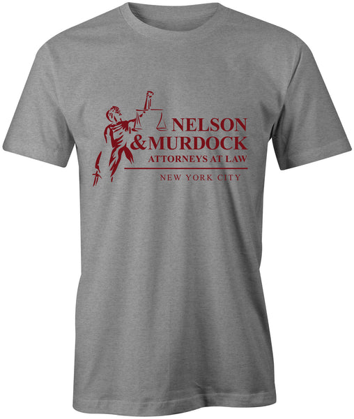 Nelson & Murdock T-Shirt - BBT Clothing - 1