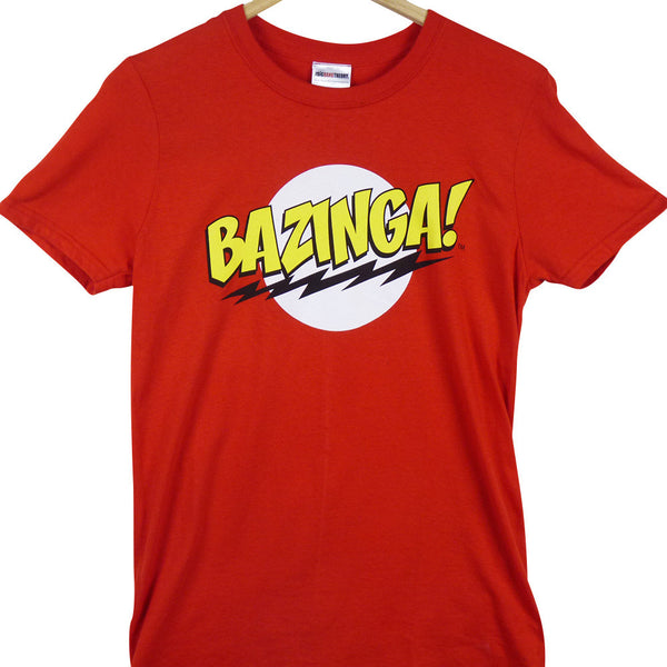 Big Bang Theory T-Shirt - Bazinga - BBT Clothing