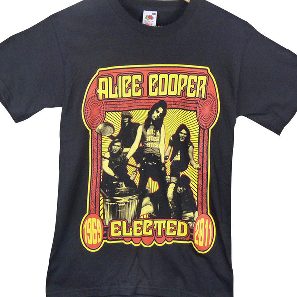 Alice Cooper T Shirt - Elected - BBT Clothing