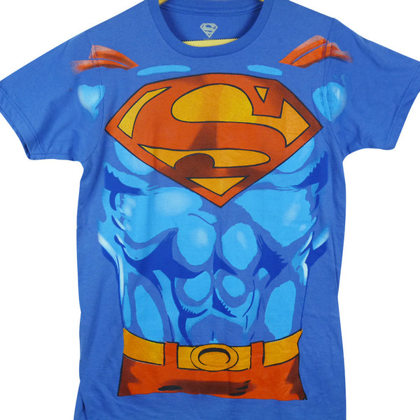 Superman T-Shirt - Superman Suit - BBT Clothing - 1