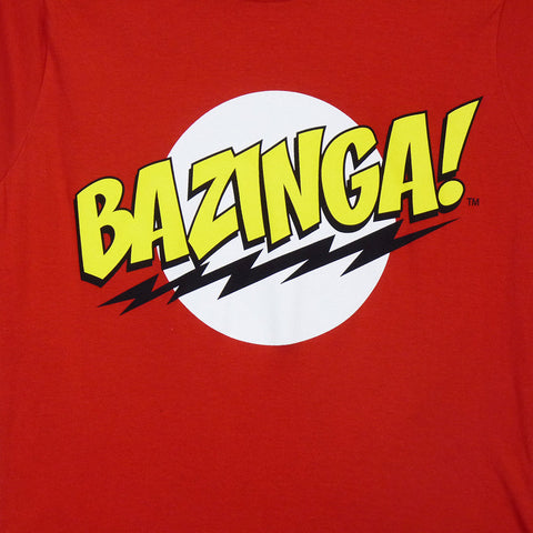 Big Bang Theory T-Shirt - Ladies Bazinga