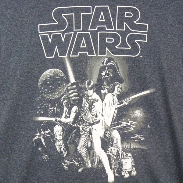 Star wars - a new hope one sheet    T-Shirt - BBT Clothing - 3