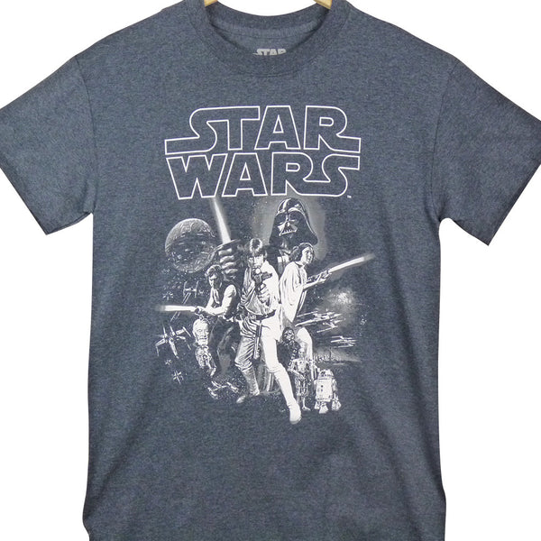 Star wars - a new hope one sheet    T-Shirt - BBT Clothing - 1