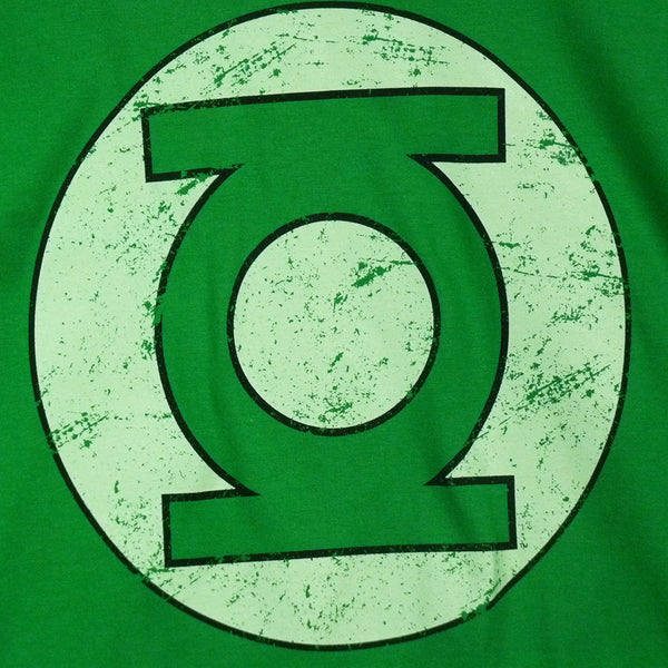 Green Lantern - Distressed logo T-Shirt - BBT Clothing - 3