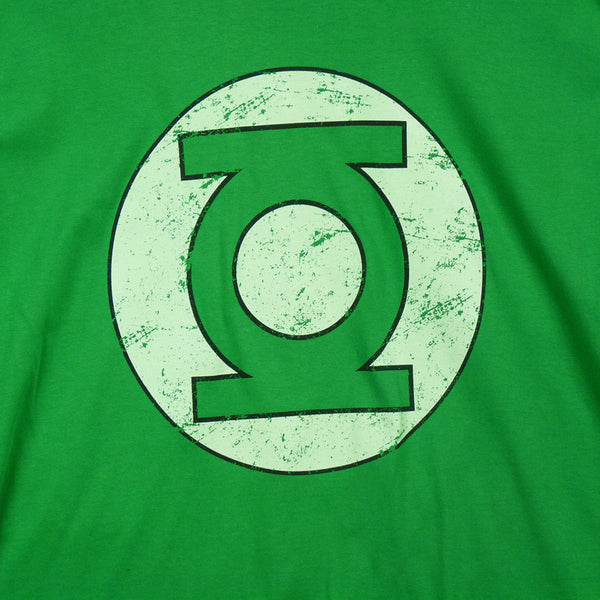 Green Lantern - Distressed logo T-Shirt - BBT Clothing - 2