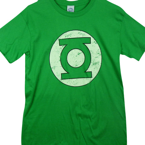 Green Lantern - Distressed logo T-Shirt