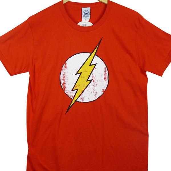The Flash T-Shirt - Distressed Logo - BBT Clothing - 1