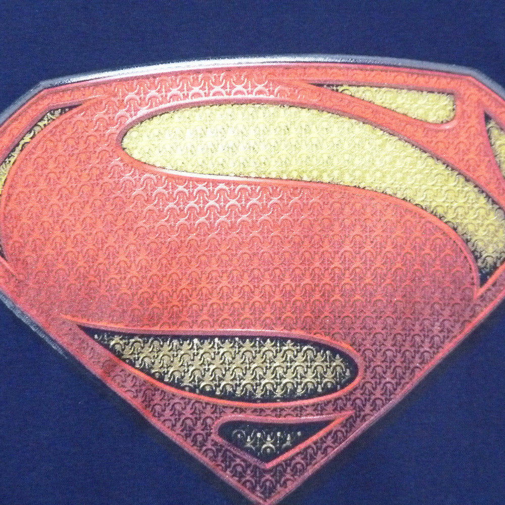Man Of Steel T-Shirt - Ladies Textured Logo - BBT Clothing - 3