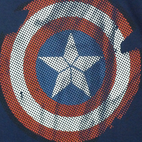 Captain America T-Shirt - Logo - BBT Clothing - 3
