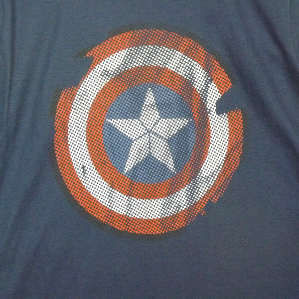 Captain America T-Shirt - Logo - BBT Clothing - 2