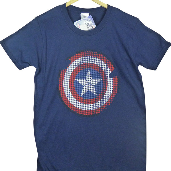 Captain America T-Shirt - Logo - BBT Clothing - 4