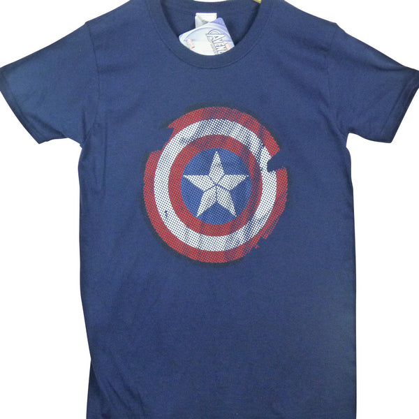 Captain America T-Shirt - Logo - BBT Clothing - 1