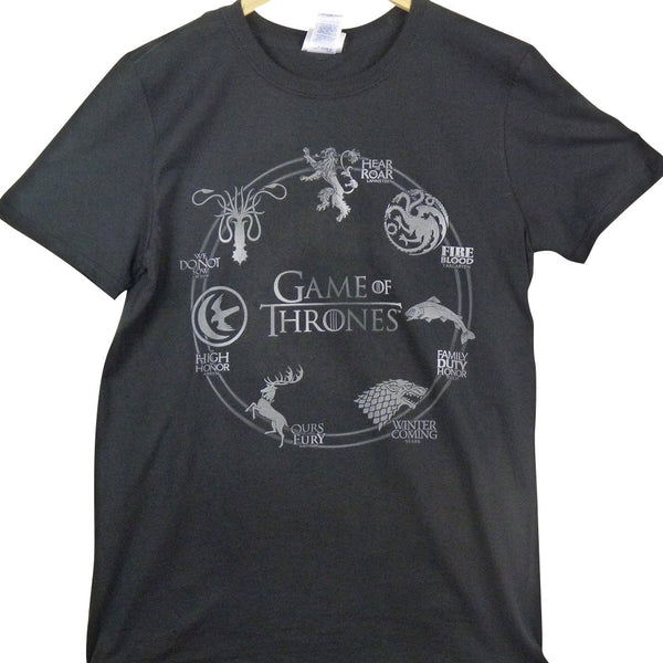 Game of Thrones T-Shirt - Sigil - BBT Clothing - 4